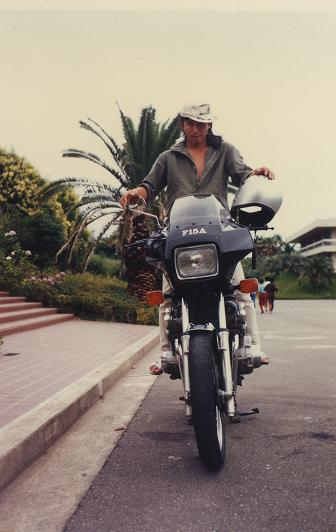 バイク・・