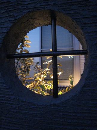 満月から見える光
