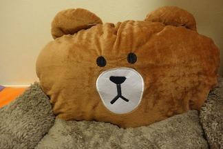 クマのベッド