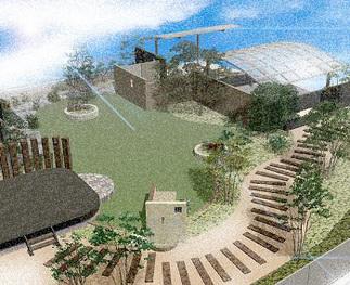 完成イメージ「庭」