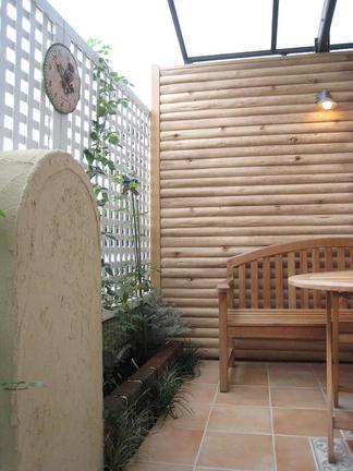 緑の小部屋の飾り壁