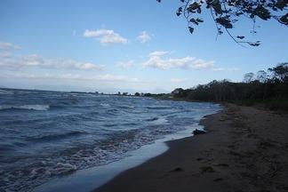 遠くに長浜