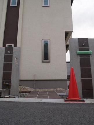 2つの門柱