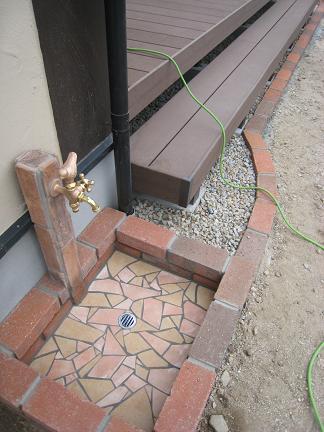 立水栓の造形