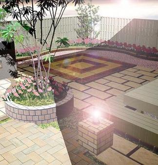 完成イメージ図「庭」