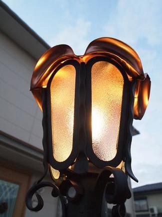 ロージーランプの灯り