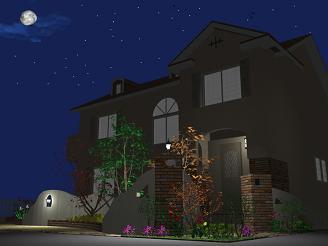 完成イメージ「夜」