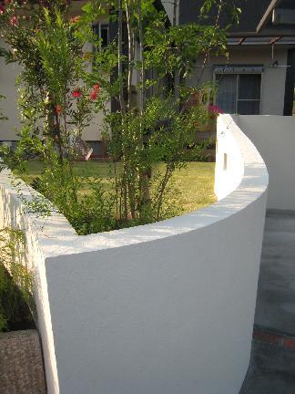 塗壁の造形