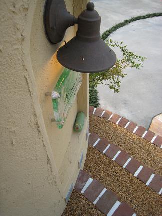 門柱になんかいる?