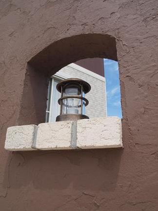 真鍮製の照明器具