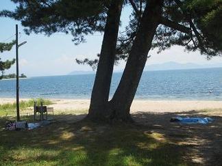琵琶湖水泳場