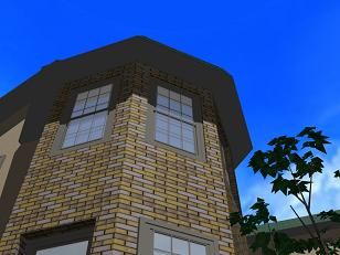 8角形の塔