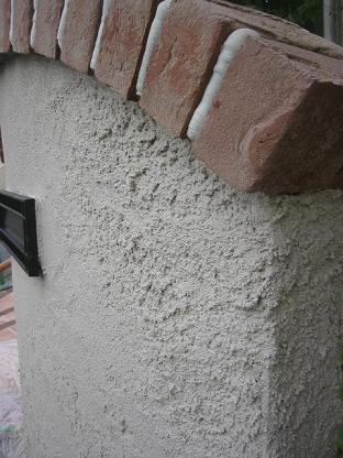 ザラザラ・・風合い溢れる壁