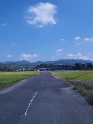 懐かしい田園風景
