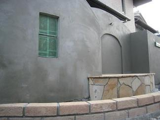 塗壁施工前