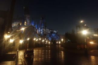 夜のホグアーツ城