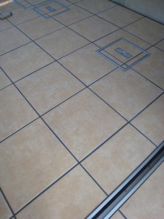 ココマ床面のタイル