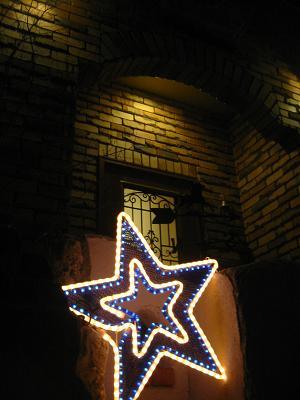 星を着飾り・・