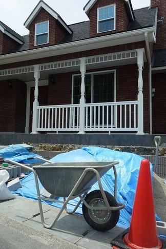 輸入住宅の外構工事
