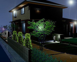 完成イメージ図「夜の景色」