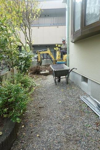 ガーデンリノベーション工事