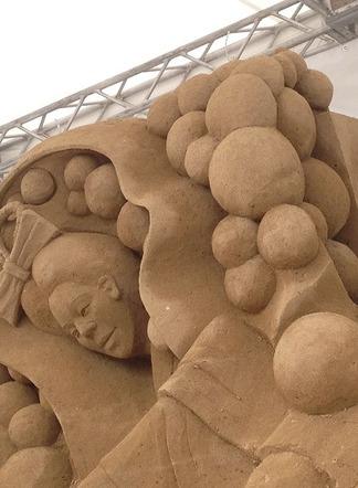 砂のアート