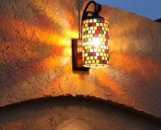 お庭の灯り