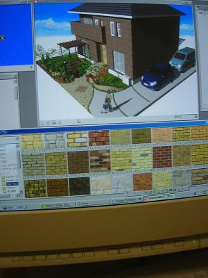 CADソフト画面