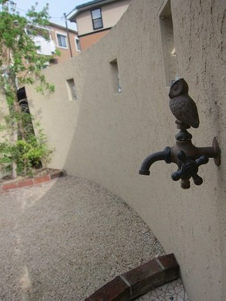 ふくろうの水栓