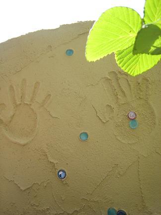 記念の手形