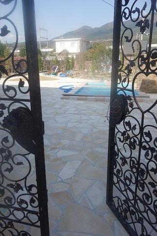 お庭への入口