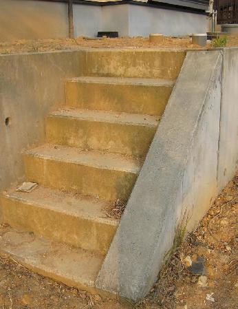 階段・・施工前