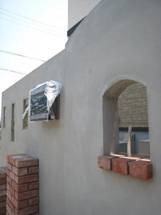 壁面の造型デザイン