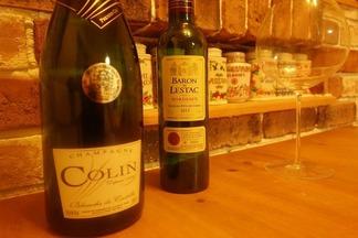 シャンパン&赤ワイン