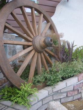大きな車輪