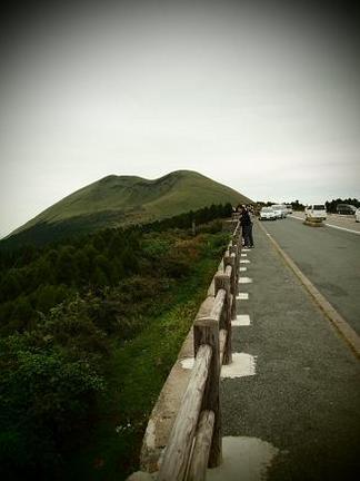 阿蘇山の景色