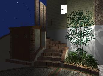 夜のイメージ図