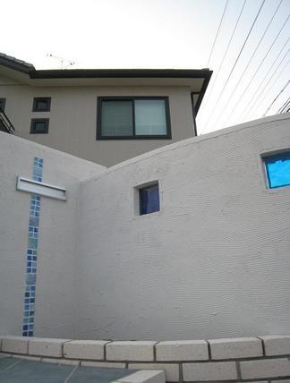 ガラスブロックとガラス釉