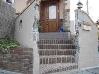 門柱形状を細かい造作で