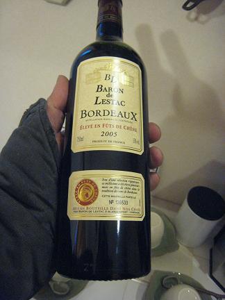 ボルドーワイン