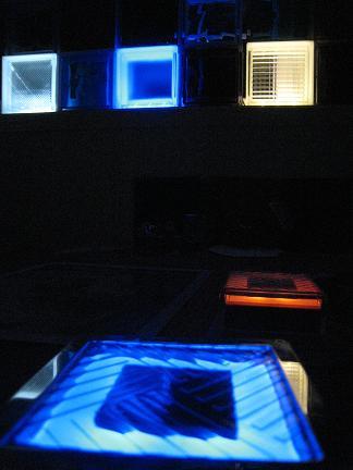LEDライトの灯り