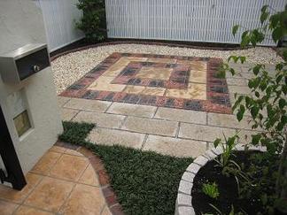 完成「お庭の片隅」