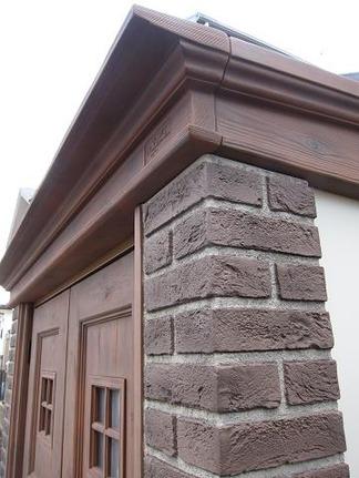 カンナの屋根