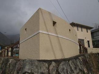敷地周囲の飾り壁