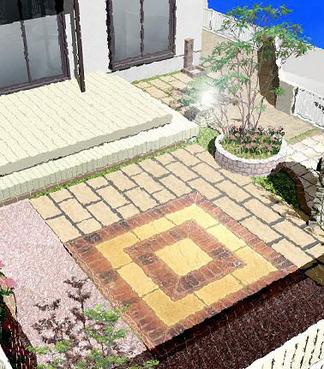完成イメージ図「ガーデンテラス」