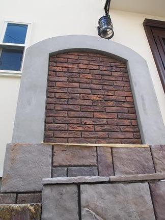 門柱の造作