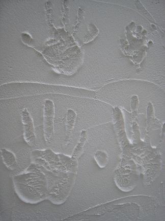 ご家族の手形