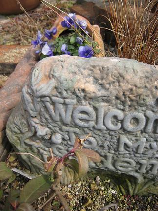 welcom my  garden