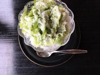 抹茶かき氷