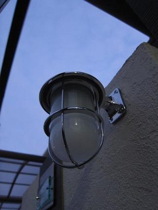 真鍮照明ライト